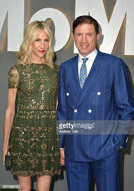 Amanda Fuhrman and Glenn Fuhrman attend the 2016 Museum Of Modern Art Party In The Garden at Museum of Modern Art on June 1 2016 in New York City