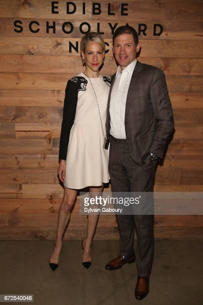 Amanda Fuhrman and Glenn Furhman attend Edible Schoolyard NYC 2017 Spring Benefit at Metropolitan West on April 24 2017 in New York City