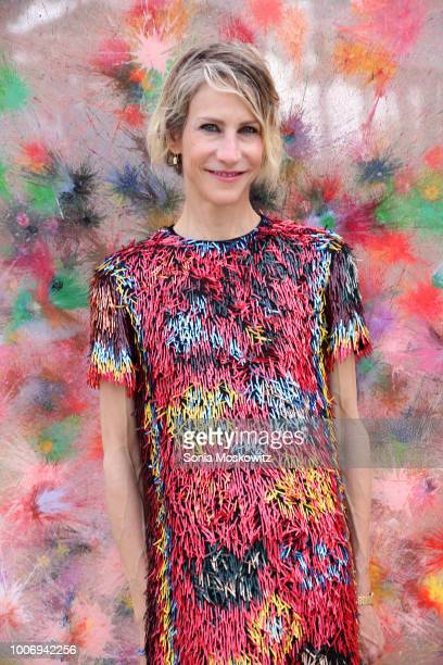 Amanda Fuhrman attends TIME BOMB The 25th Annual Watermill Center Summer Benefit at The Watermill Center on July 28 2018 in Water Mill New York
