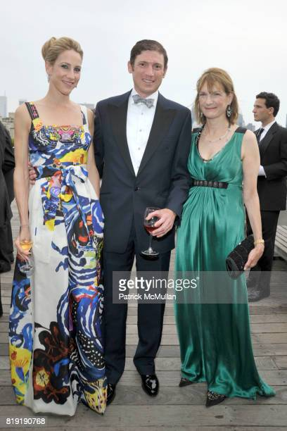 Amanda Fuhrman Glenn Fuhrman and Patti Harris attend HAUT BRION 75th Anniversary at The Metropolitan Museum of Art on July 12 2010 in New York City