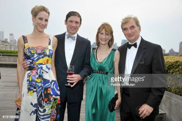 Amanda Fuhrman Glenn Fuhrman Patti Harris and attend HAUT BRION 75th Anniversary at The Metropolitan Museum of Art on July 12 2010 in New York City