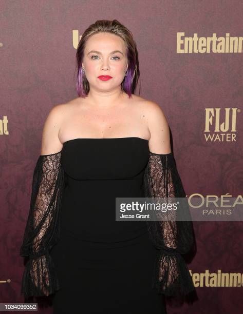 Amanda Fuller attends FIJI Water at Entertainment Weekly PreEmmy Party on September 15 2018 in Los Angeles California