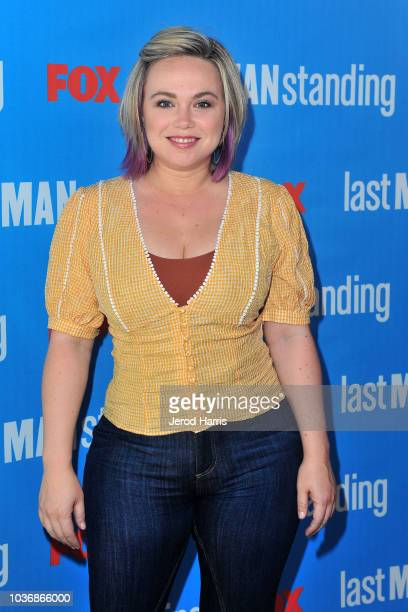 Amanda Fuller attends FOX Celebrates The Premiere of 'Last Man Standing' With The 'Last Fan Standing' Marathon Event at Hollywood and Highland on...