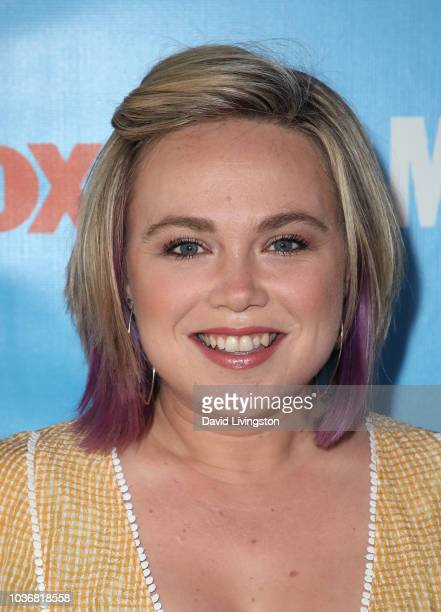Amanda Fuller attends FOX Celebrating the premiere of 'Last Man Standing' with the 'Last Fan Standing' marathon event at Hollywood and Highland on...