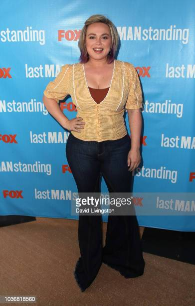 Amanda Fuller attends FOX Celebrating the premiere of Last Man Standing with the Last Fan Standing marathon event at Hollywood and Highland on...