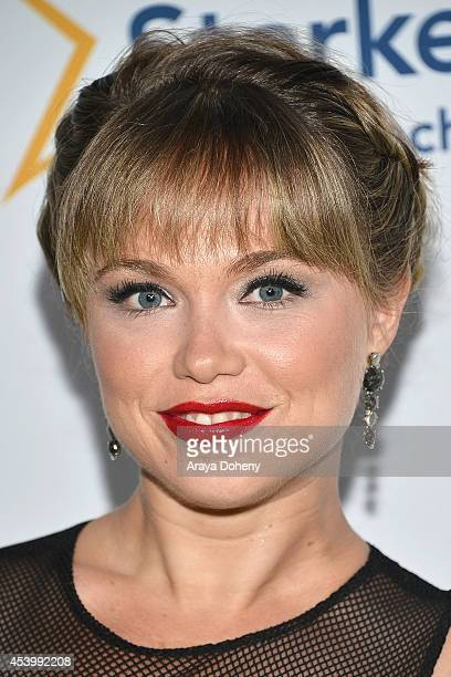 Amanda Fuller attends Heifer International's 3rd Annual 'Beyond Hunger A Place At The Table' Gala at Montage Beverly Hills on August 22 2014 in...