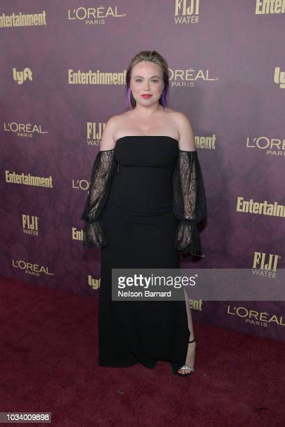 Amanda Fuller attends the 2018 PreEmmy Party hosted by Entertainment Weekly and L'Oreal Paris at Sunset Tower on September 15 2018 in Los Angeles...
