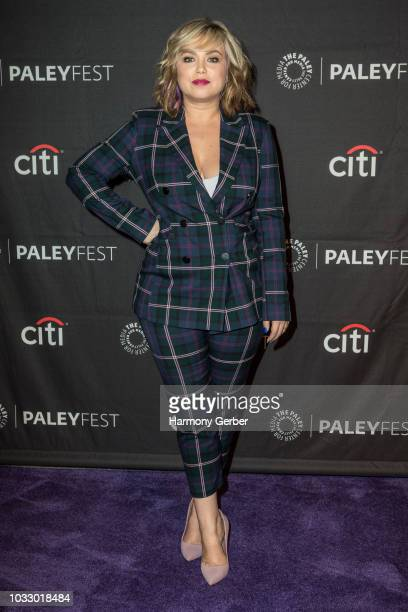 Amanda Fuller attends The Paley Center For Media's 2018 PaleyFest Fall TV Preview at The Paley Center for Media on September 13 2018 in Beverly Hills...