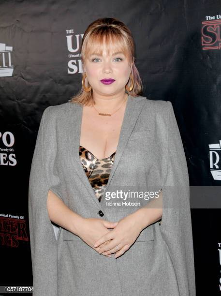 Amanda Fuller attends 'The Unauthorized Parody Of Stranger Things' at Rockwell Table and Stage on November 3 2018 in Los Angeles California