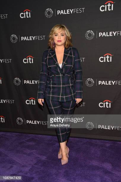 Amanda Fuller from Last Man Standing attends The Paley Center for Media's 2018 PaleyFest Fall TV Previews Fox at The Paley Center for Media on...