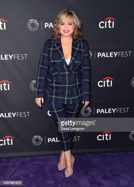 Amanda Fuller from 'Last Man Standing' attends The Paley Center for Media's 2018 PaleyFest Fall TV Previews Fox at The Paley Center for Media on...