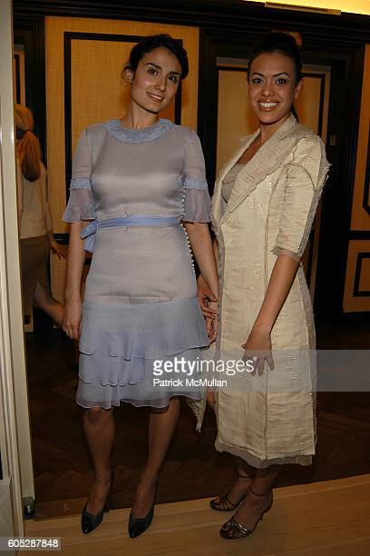 Amanda Garcia and Jennifer Manko attend GILLES MENDEL Party for TERI HATCHER and her new book BURNT TOAST at BG Restuarant on May 11 2006 in New York...