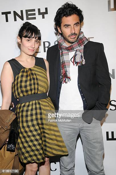Amanda Garcia Santana and Yigal Azrouel attend The WHITNEY MUSEUM OF AMERICAN ART'S 2008 Gala and Studio Party ARRIVALS at The Whitney Museum of...