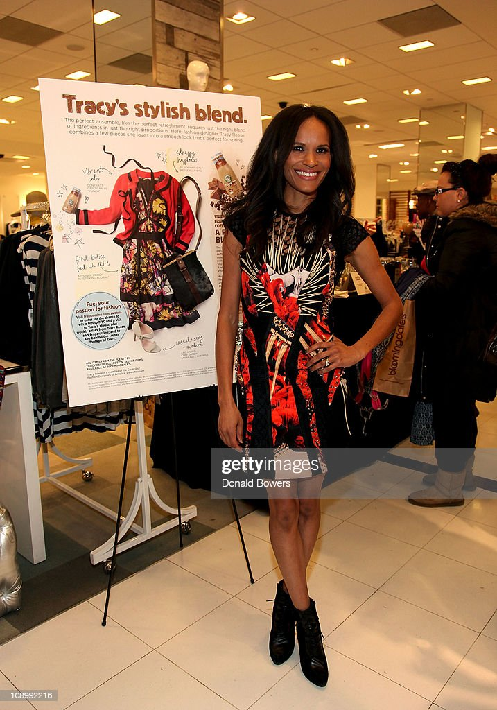 Starbucks Frappuccino at Bloomingdale's Mad About Fashion : News Photo