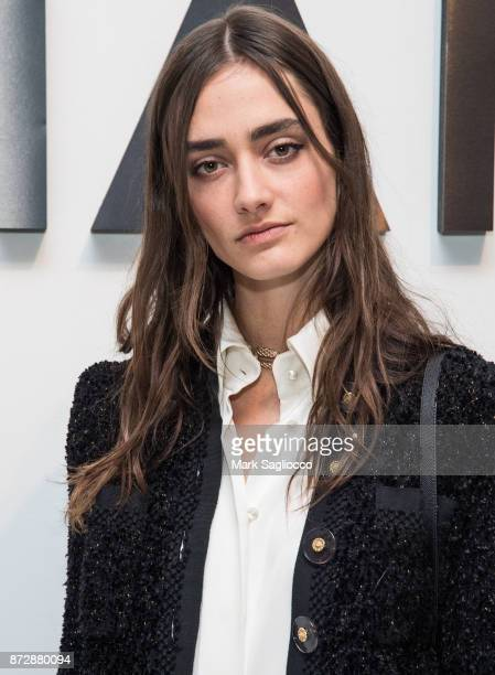 Amanda Googe attends the CHANEL celebration of the launch of The Coco Club at The Wing Soho on November 10 2017 in New York City