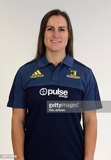 Amanda Gould Marketing and Finance Manager of the Highlanders poses for a portrait on January 22 2016 in Dunedin New Zealand