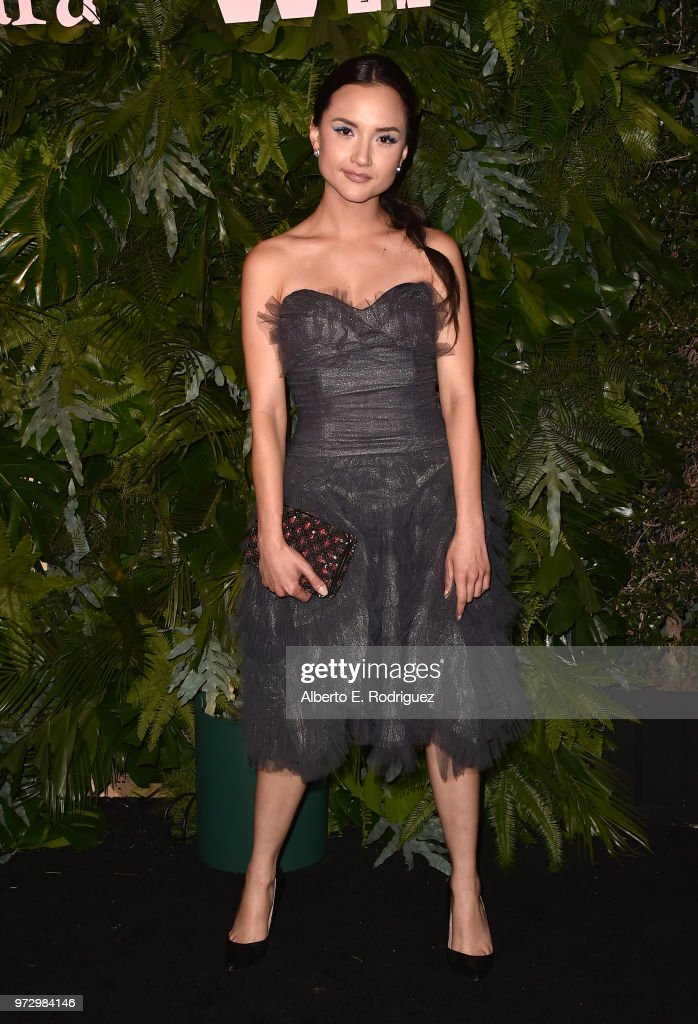 Amanda Grace Benitez attends Max Mara Women In Film Face of the Future at Chateau Marmont on June 12, 2018 in Los Angeles, California.
