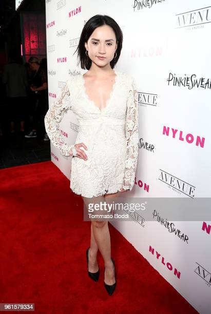 Amanda Grace Benitez attends NYLON's Annual Young Hollywood Party sponsored by Pinkie Swear at Avenue Los Angeles on May 22 2018 in Hollywood...