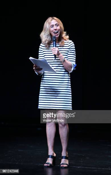 Amanda Green on stage during the 9th Annual LILLY Awards at the Minetta Lane Theatre on May 212018 in New York City
