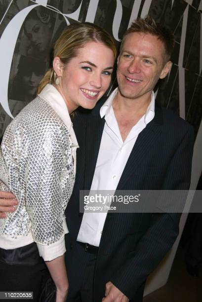 Amanda Hearst and Bryan Adams during Calvin Klein Inc and Bryan Adams Host the Launch of His New Photography Book American Women Inside the Party at...