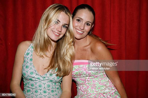 Amanda Hearst and Gillian HearstShaw attend LILLY PULITZER Q Magazine and Amanda Hearst Celebrate Fashion Week at Marquee on September 14 2006 in New...