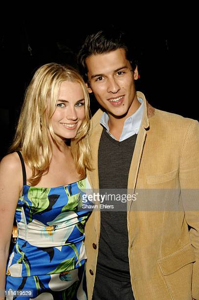 Amanda Hearst and Luigi Tadini during Junior Committee River Keeper Soiree October 12 2006 at CAIN in New York City New York United States