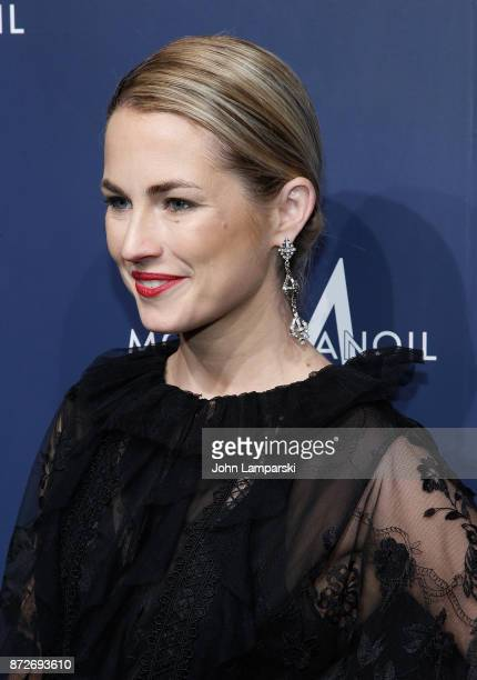 Amanda Hearst attends 2017 Humane Society of The United States to the Rescue New York Gala at Cipriani 42nd Street on November 10 2017 in New York...