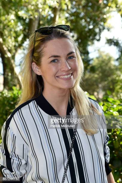 Amanda Hearst attends Hearst Castle Preservation Foundation Associate Trustees' Tour at Hearst Castle on September 28 2017 in San Simeon CA