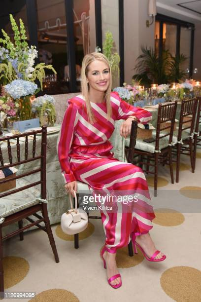 Amanda Hearst attends MAISONDEMODECOM Sustainable Style Gala at Sunset Tower on February 23 2019 in Los Angeles California