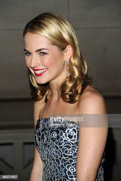 Amanda Hearst attends the 6th Annual Apollo Circle Benefit Dance at The Metropolitan Museum of Art on November 12 2009 in New York New York