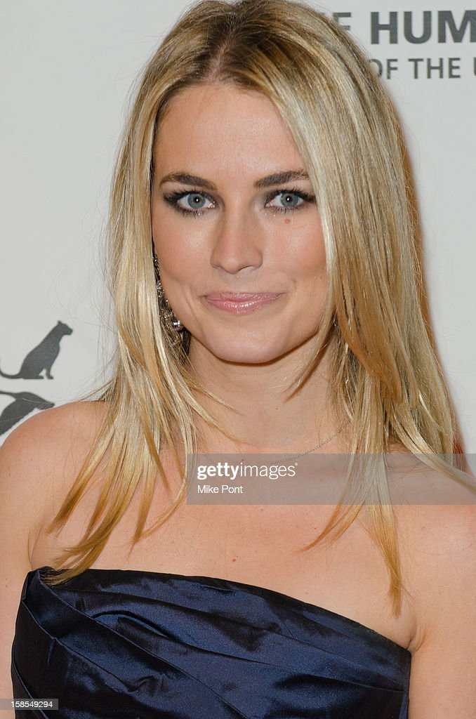 Amanda Hearst attends The Humane Society of the United States presents the To The Rescue! gala benefiting post hurricane Sandy efforts at Cipriani 42nd Street on December 18, 2012 in New York City.