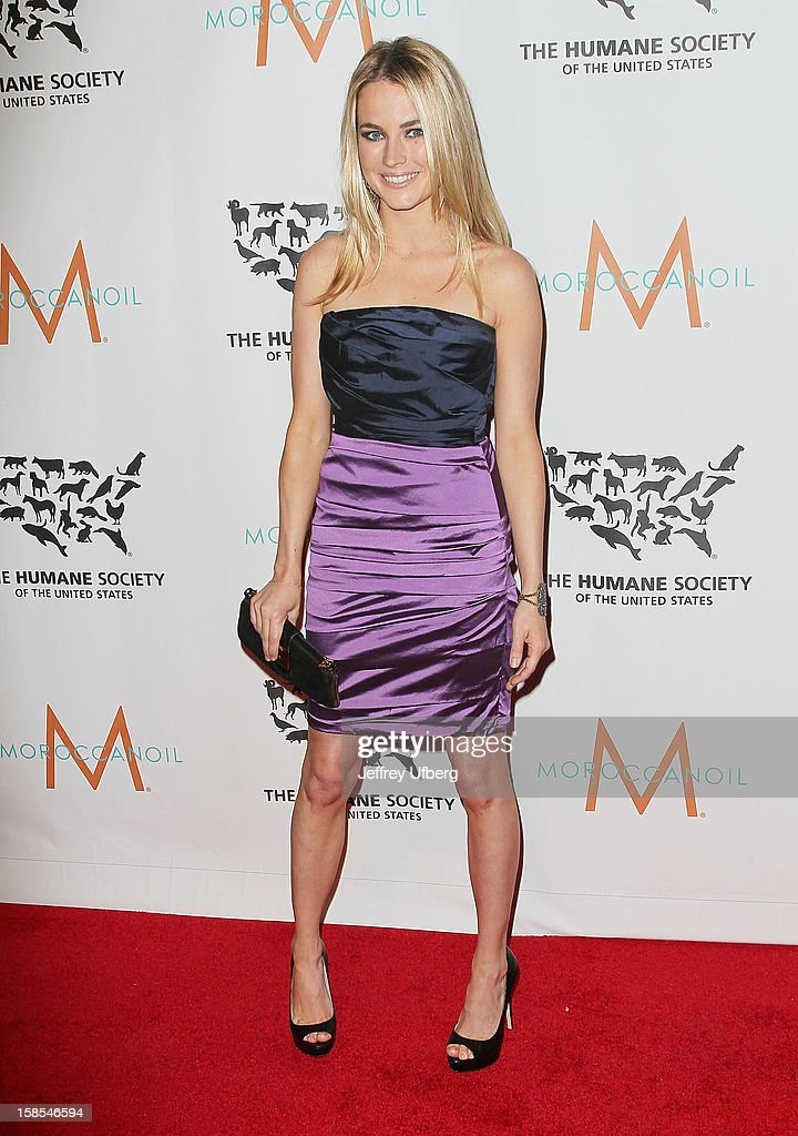 Amanda Hearst attends The Humane Society of the United States presents To The Rescue! gala benefiting post hurricane Sandy efforts at Cipriani 42nd Street on December 18, 2012 in New York City.