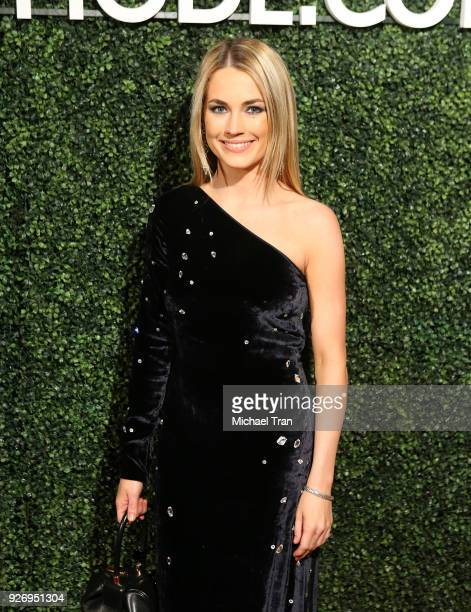 Amanda Hearst attends the MAISONDEMODE Celebrates Sustainable Style held at Sunset Tower on March 3 2018 in Los Angeles California