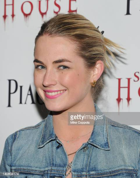 Amanda Hearst attends the 'Silent House' premiere at AMC Loews Lincoln Square on March 6 2012 in New York City