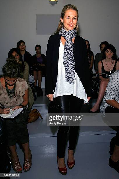 Amanda Hearst attends the Vena Cava Spring 2011 fashion show during MercedesBenz Fashion Week at Milk Studios on September 9 2010 in New York City