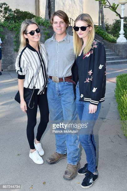 Amanda Hearst Brennan Balson and Lydia Hearst attend Hearst Castle Preservation Foundation Associate Trustees' Tour at Hearst Castle on September 28...
