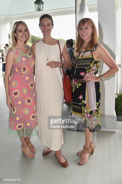 Amanda Hearst Bryna NoyerMaingard and Nicole Miller attend A Maison de Mode Summer Fete hosted by Amanda Hearst at Private Residence on August 25...