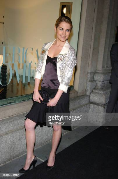 Amanda Hearst during Calvin Klein Inc and Bryan Adams Celebrate American Women Book Launch at Calvin Klein Collection in New York City New York...