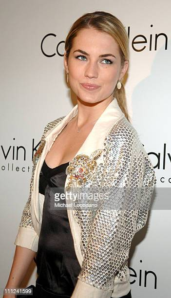 """Amanda Hearst during Calvin Klein, Inc. And Bryan Adams Host the Launch of His New Photography Book """"American Women"""" at The Calvin Klein Collection..."""