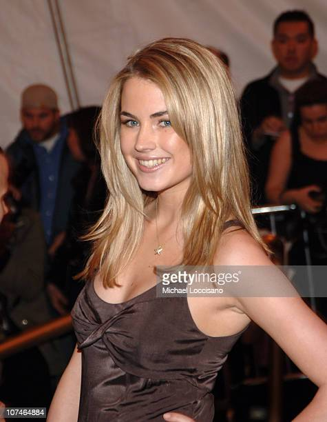 Amanda Hearst during Chanel Costume Institute Gala Opening at the Metropolitan Museum of Art Arrivals at Metropolitan Museum of Art in New York City...