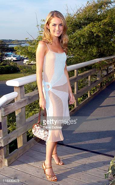 Amanda Hearst during Hamptons Magazine Celebrates the Covers Featuring Elite Models Lauren Bush and Amanda Hearst at Bridgehampton Tennis and Surf...