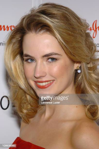 Amanda Hearst during Red Dress Collection 2004 Raising Awareness Of Women And Heart Disease at Bryant Park in New York City New York United States