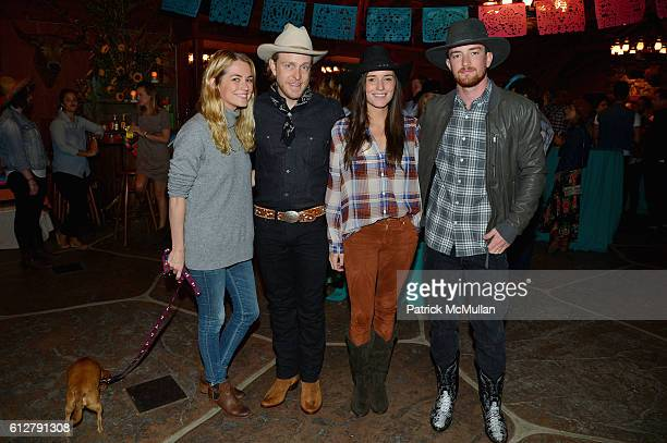 Amanda Hearst Ken Howery Kick Kennedy and Randy Harris attend Hearst Castle Preservation Foundation Annual Benefit Weekend 2016 Hearst Ranch Patron...
