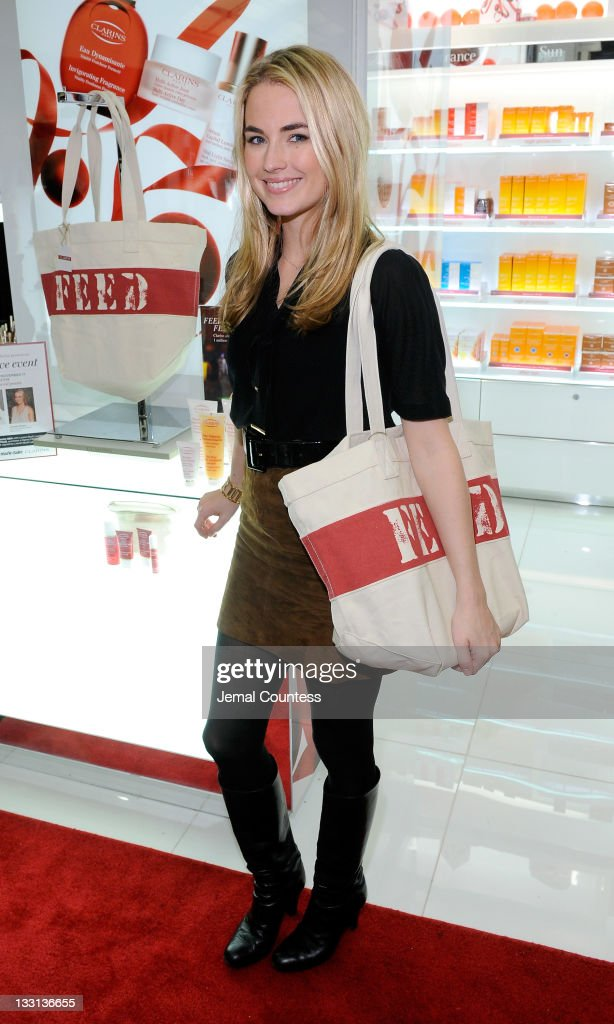Bloomingdale's 59th St. Welcomes Lauren Bush Lauren and Amanda Hearst To Support Clarins FEED 25 Bag