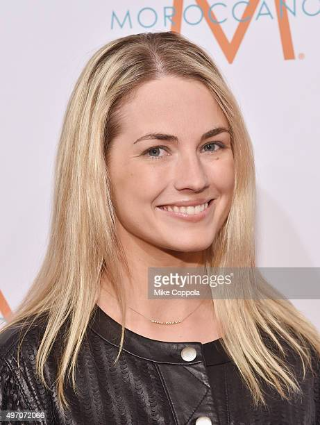 Amanda Hearst poses for a picture during the 2015 To The Rescue New York Gala at Cipriani 42nd Street on November 13 2015 in New York City