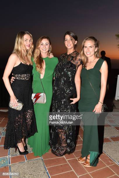 Amanda Hearst Rebecca Revel Jamie Braverman and Ashley Bush attend Hearst Castle Preservation Foundation Benefit Weekend 'James Bond 007 Costume...