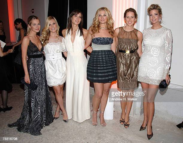 Amanda Hearst Tinsley Mortimer Zani Gugelmann Claire Bernard Jacqueline Sackler and Ivanka Trump attend The American Museum of Natural History's...