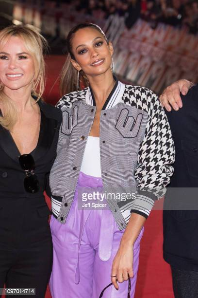 Amanda Holden and Alesha Dixon arrive at the Britain's Got Talent 2019 auditions held at London Palladium on January 20 2019 in London England