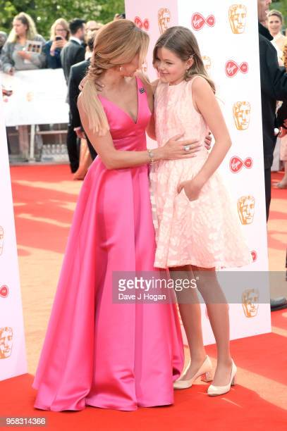 Amanda Holden and Alexa Hughes attend the Virgin TV British Academy Television Awards at The Royal Festival Hall on May 13 2018 in London England