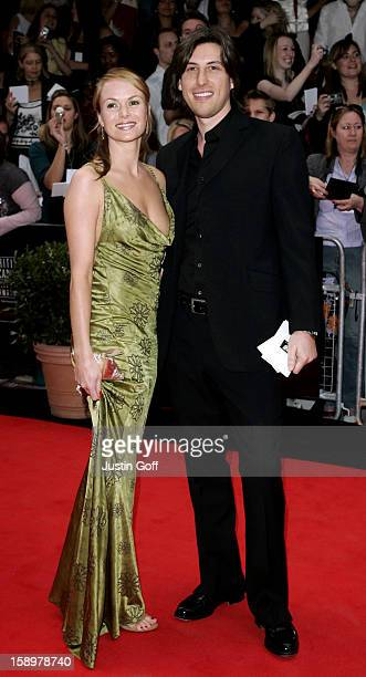 Amanda Holden And Chris Hughes Attend The 2006 British Academy Television Awards At London'S Grosvenor House Hotel